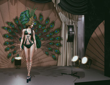 Peacock Outfit by ZD Design - image #447869 gratis