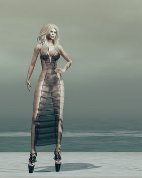 Naomi dress by United Colors @ Fameshed - бесплатный image #448249