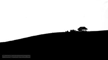 hut in the mountains, BW AD4A5811s2 - бесплатный image #448399
