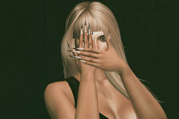 Cross Nails by SlackGirl @ 4Mesh - image #448579 gratis