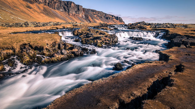 Foss waterfall - Iceland - Landscape photography - Kostenloses image #448859