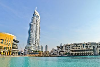 Address Hotel and Lake Burj Dubai in Dubai - image gratuit #449629