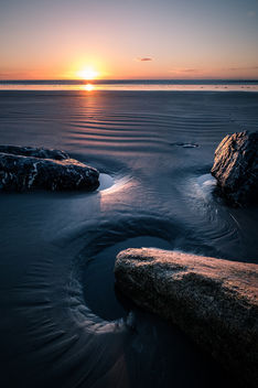 Sunrise in Bull Island - Dublin, Ireland - Seascape photography - Kostenloses image #449839