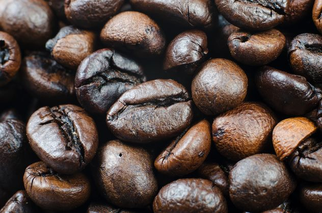 Coffee beans background - Free image #451879