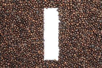 Alphabet of coffee beans - бесплатный image #451899