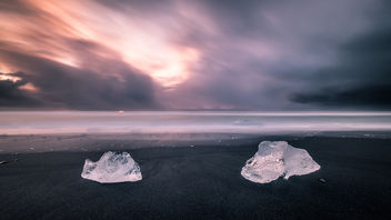 Diamond beach - Iceland - Seascape photography - бесплатный image #452369