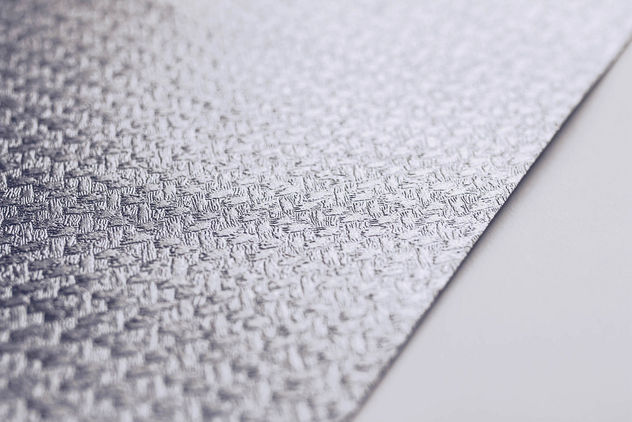 Close up of a paper texture. Silver decorative paper. - image #452709 gratis