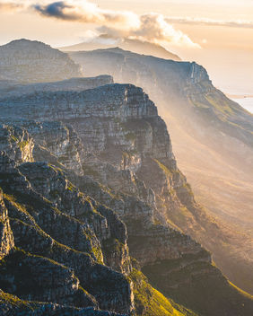 Right before sunset from Table Mountain! - image #452889 gratis