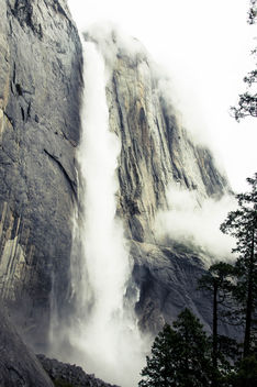 Yosemite Falls-tallest waterfalls in North America - бесплатный image #454539