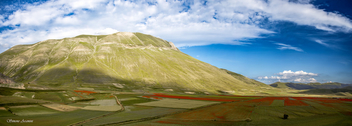 Castelluccio: Green Red Blue - image gratuit #455039