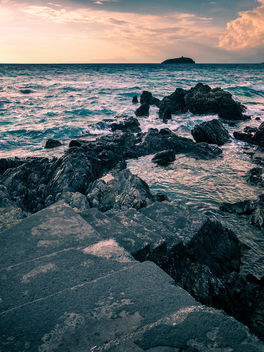 Sunset in Diamante - Calabria, Italy - Seascape photography - бесплатный image #455229