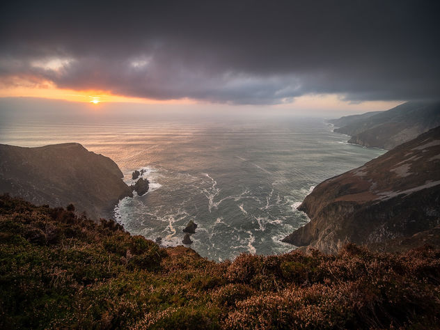 Slieve League - Donegal, Ireland - Seascape photography - Free image #457299