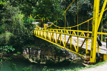 A Yellow Bridge - Free image #458459