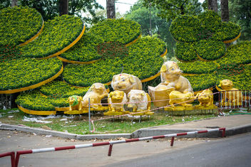 Lunar New Year Decorations in Ho Chi Minh City, Vietnam.jpg - Kostenloses image #458759
