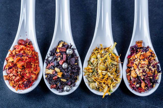 Hot-pepper-tea-chamomile-tea and-dried-fruit-teas.jpg - бесплатный image #458859