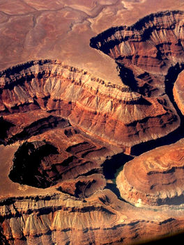 Grand Canyon From Above - image #459959 gratis