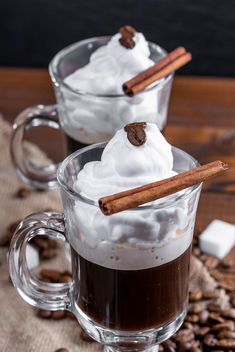 Coffee with whipped cream and cinnamon stic (Flip 2019) - бесплатный image #460769