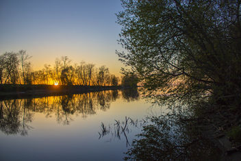 River sunset - image gratuit #460879