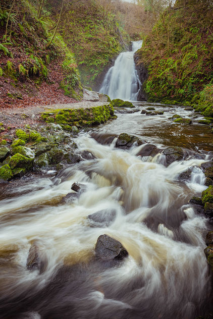 Gleno stream and waterfall - image #461339 gratis