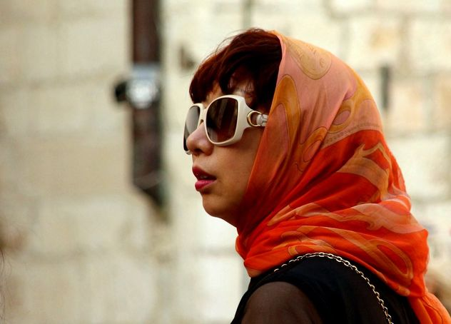 Scarf and sunglasses - image gratuit #464589