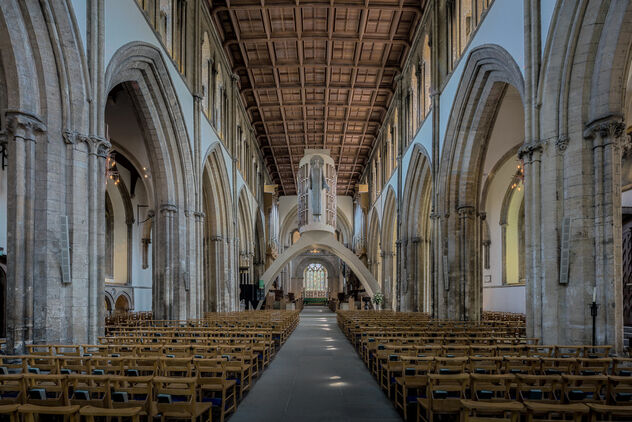 Llandaff Cathedral Nave - image gratuit #469039