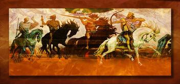 The four Horseman - image gratuit #469059