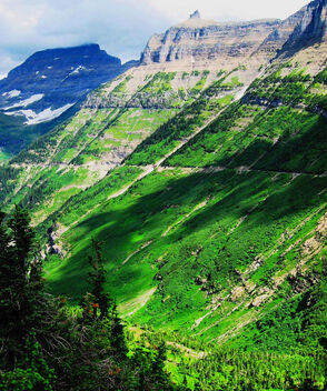 Glacier National Park, Montana GREEN - Kostenloses image #470739