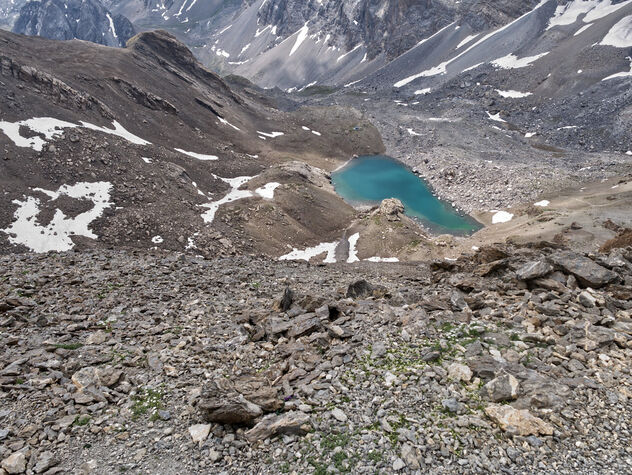 High Maira valley lake. - image #473319 gratis