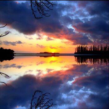 Sunset - mirror effect 21 - PicsArt 2020 - Free image #477609